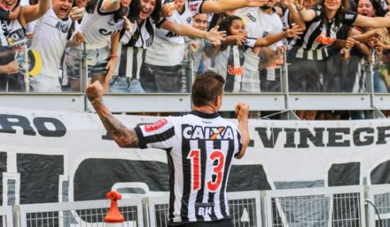 BELO HORIZONTE / MINAS GERAIS / BRASIL  16.04.2017 Atlético x URT no Mineirão – Campeonato Mineiro 2017  – foto: Bruno Cantini / Atlético