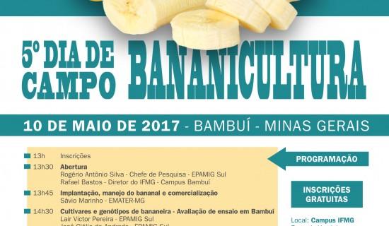 5º Dia de Campo Bananicultura – Divulgação