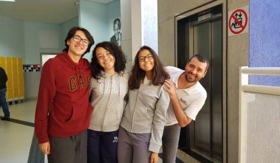 Foto equipe Olimpiada de Historia CSA CT